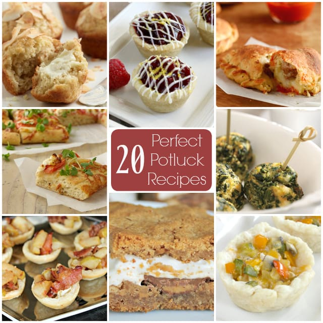 20 Perfect Potluck Recipes - Butter With a Side of Bread