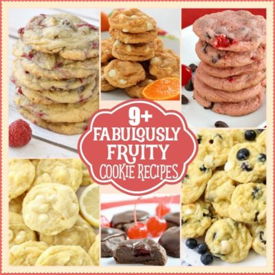 9+ FABULOUSLY FRUITY COOKIE RECIPES