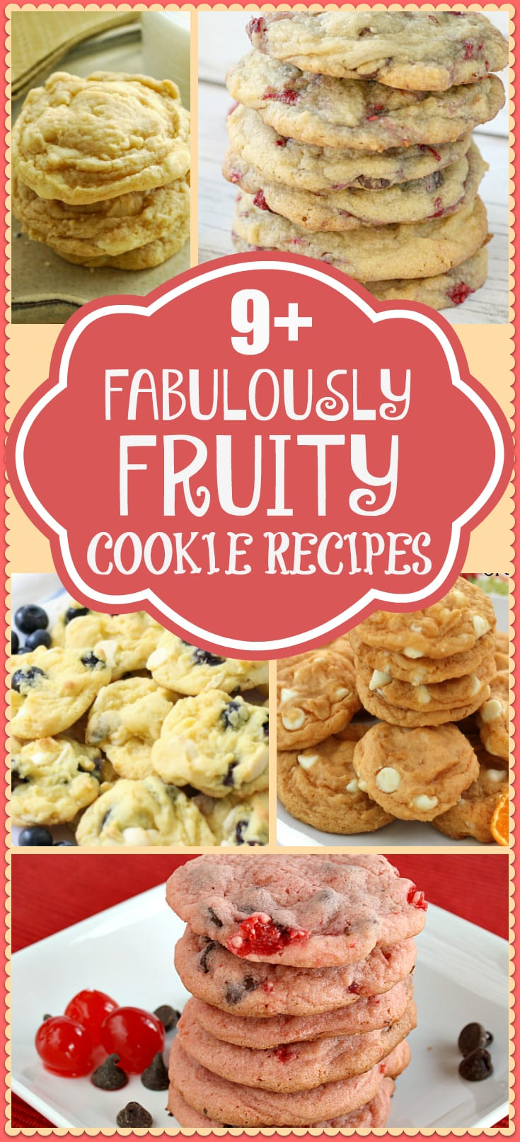 Amazing fruity cookie recipes featuring cookies with fruit ~ Butter With A Side of Bread