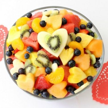 Sweetheart Fruit Salad - Butter With A Side of Bread