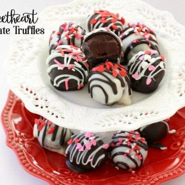 Chocolate Sweetheart Truffles - Butter With A Side of Bread