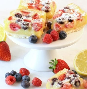 Berry Lemon Bars - Butter With A Side of Bread