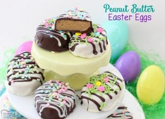 Peanut Butter Easter Eggs - Butter With A Side of Bread