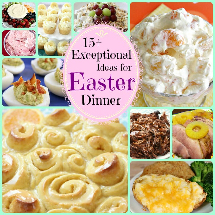 Easter dinner recipes - Butter With A Side of Bread
