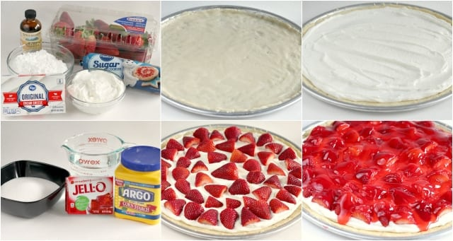 Glazed Strawberry Fruit Pizza - Butter With a Side of Bread