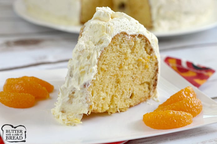 Mandarin Orange Cake With Pineapple Frosting A Light Refreshing That Begins