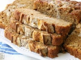 Cinnamon Swirl Pumpkin Bread is a delightful twist on a classic that incorporates a sweet cream cheese and cinnamon swirled into a soft pumpkin bread.