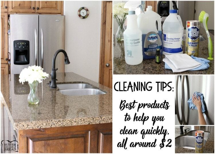 Cleaning Tips And A List Of Best Cleaning Products That Help Your Home Stay  Clean And Smell Fresh. Featuring Five Of My Favorite Cleaning Tools For $2  Each!