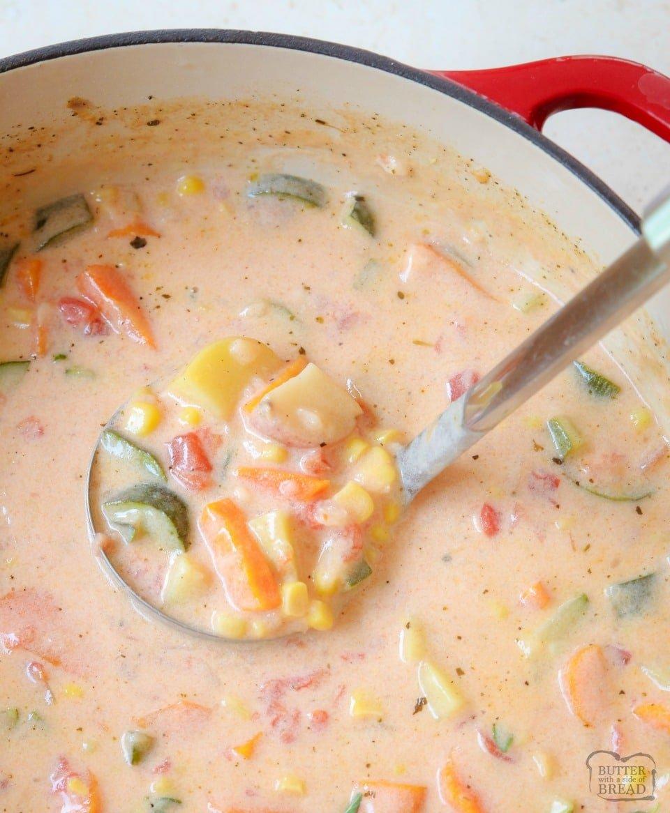 Summer Garden Vegetable Stew recipe