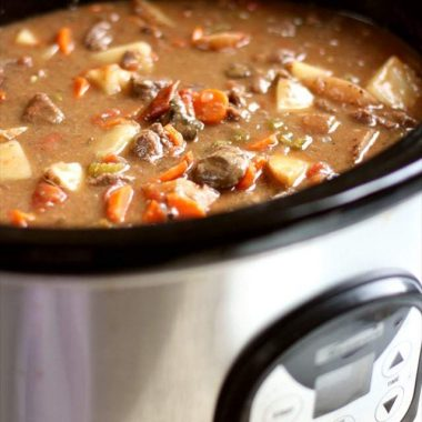 How to make the best Crock pot beef stew recipe