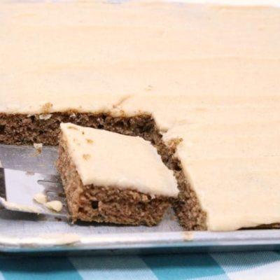 EASY ZUCCHINI CAKE
