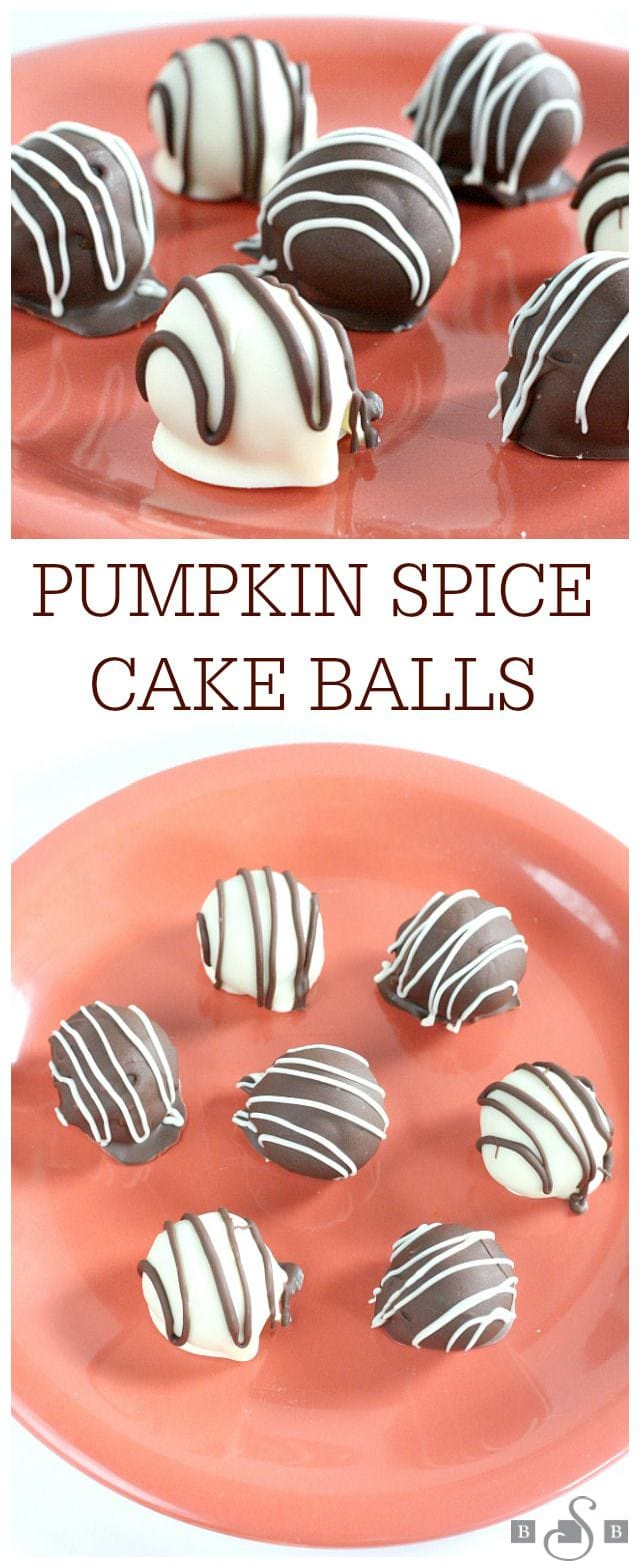 Pumpkin Spice Cake Balls - Butter With a Side of Bread