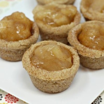 SNICKERDOODLE APPLE PIE COOKIE CUPS