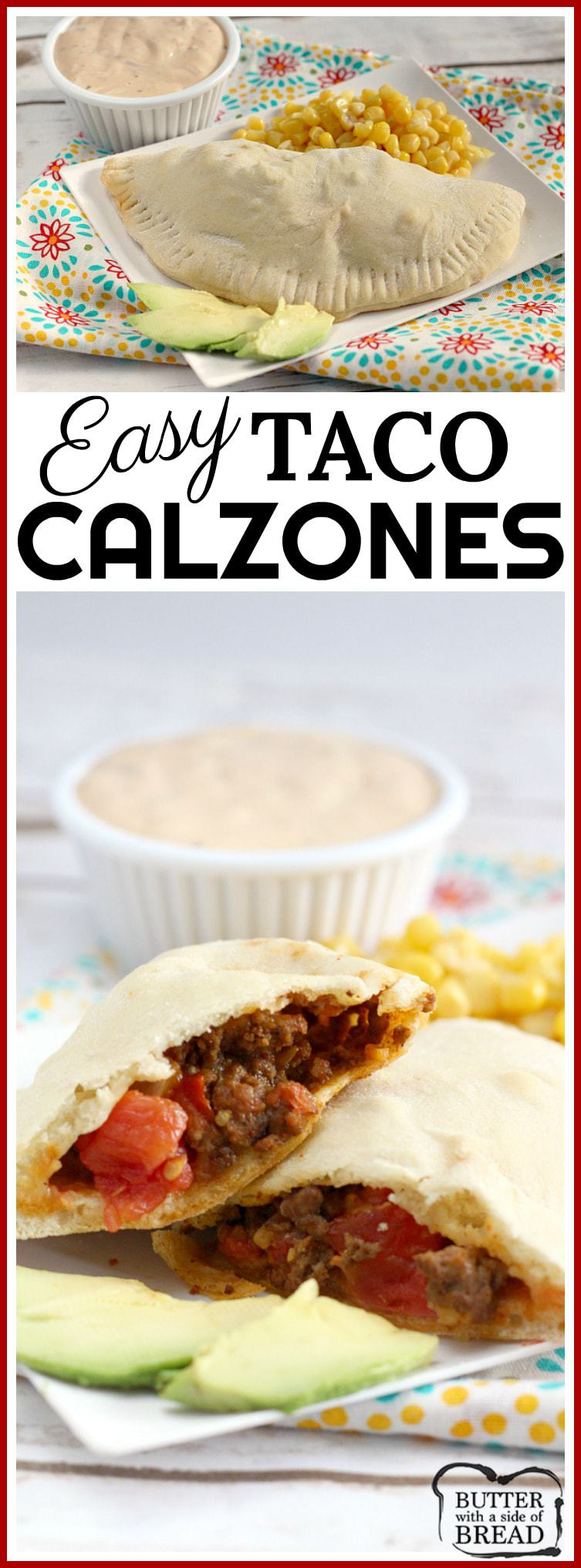 Feb 12,  · To make each calzone measure out a tennis ball sized portion of dough. Roll out into a flat circle and then begin to layer in the beans, beef, salsa, cheese, green onion, olives and chilis on one half of the circle making sure to leave an inch from the edge.