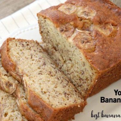 YOGURT BANANA BREAD RECIPE