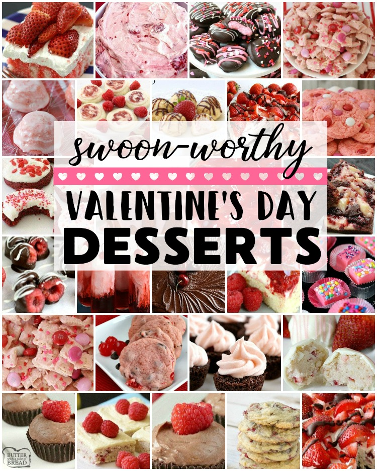 Easy Swoon Worthy Valentine S Day Desserts Butter With A Side Of Bread