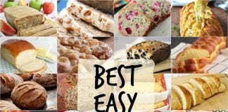 Best Bread Recipes~ from sweet to savory, quick breads to breads with yeast, we love bread! Most popular easy bread recipes we can't get enough of in our home. If you enjoy making bread, you've got to check out these incredible bread recipes.