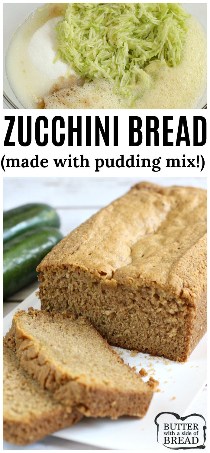 Zucchini Bread Made With Cake Mix