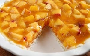 Easy Peach Pie 10