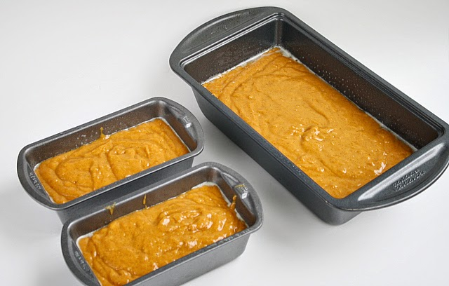 Pumpkin Bread that is soft and delicious because it is made with canned pumpkin, vanilla and butterscotch pudding mixes. This pumpkin bread recipe is also topped with a delicious cream cheese glaze!