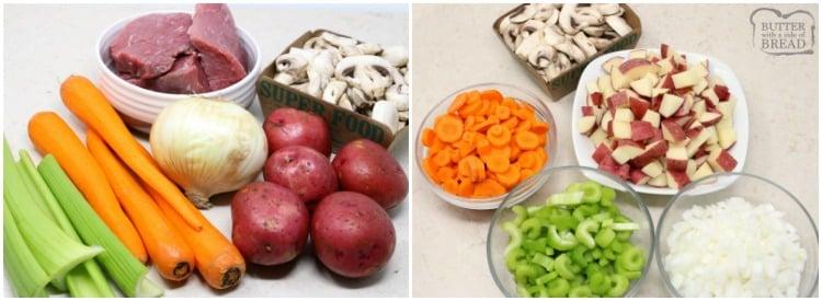 beef stew recipe slow cooker