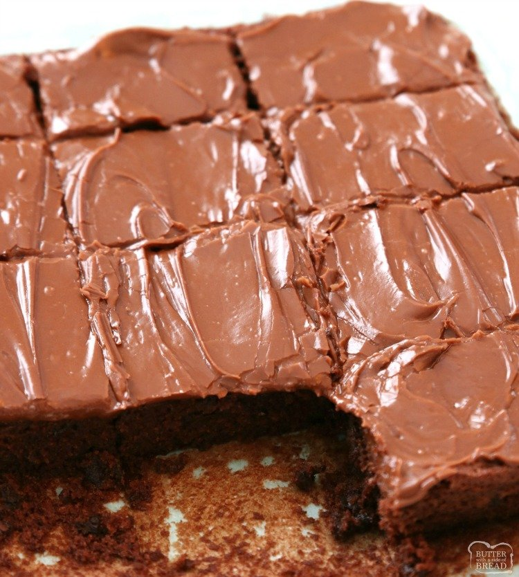 BEST BROWNIE RECIPE - Butter with a