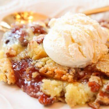 Berry dump cake recipe