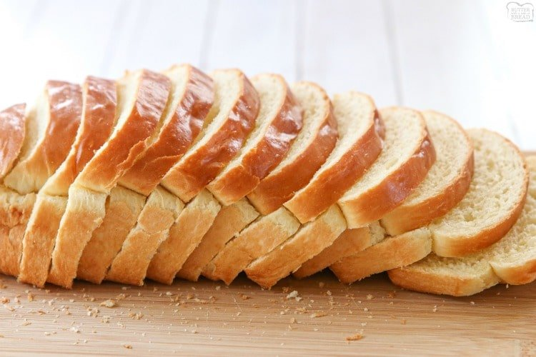 White Bread recipe is made with six ingredients & detailed instructions showing how to make bread! Done in just over an hour this recipeis one of the best soft white sandwich bread recipes.