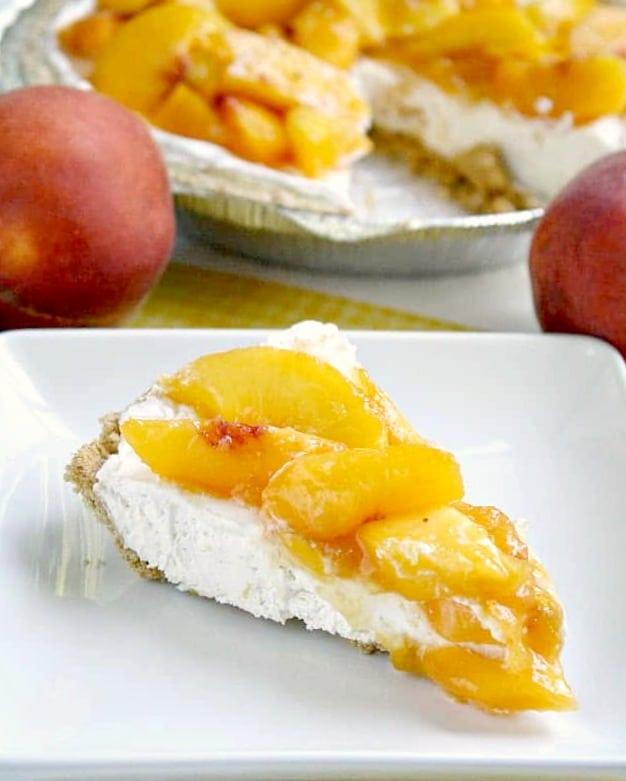 no bake peach pie recipe