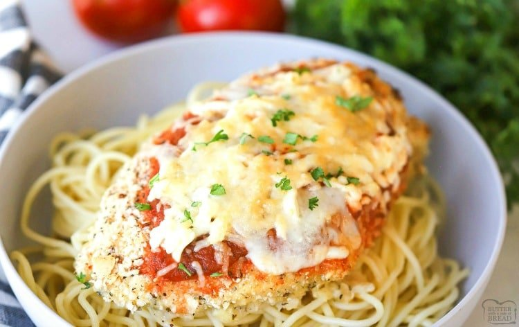 chicken parmesan pasta