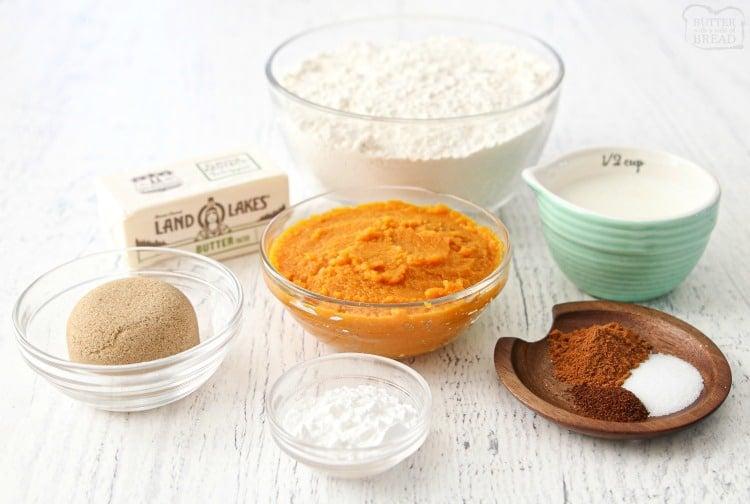 ingredients for scones