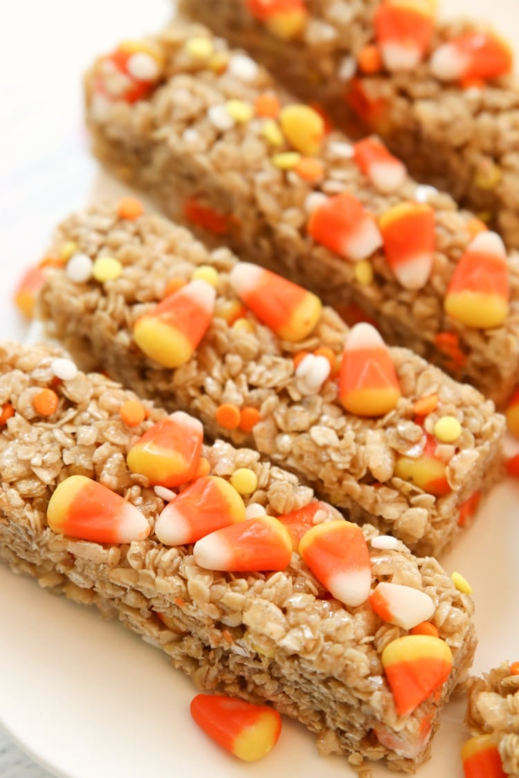halloween granola bars recipe