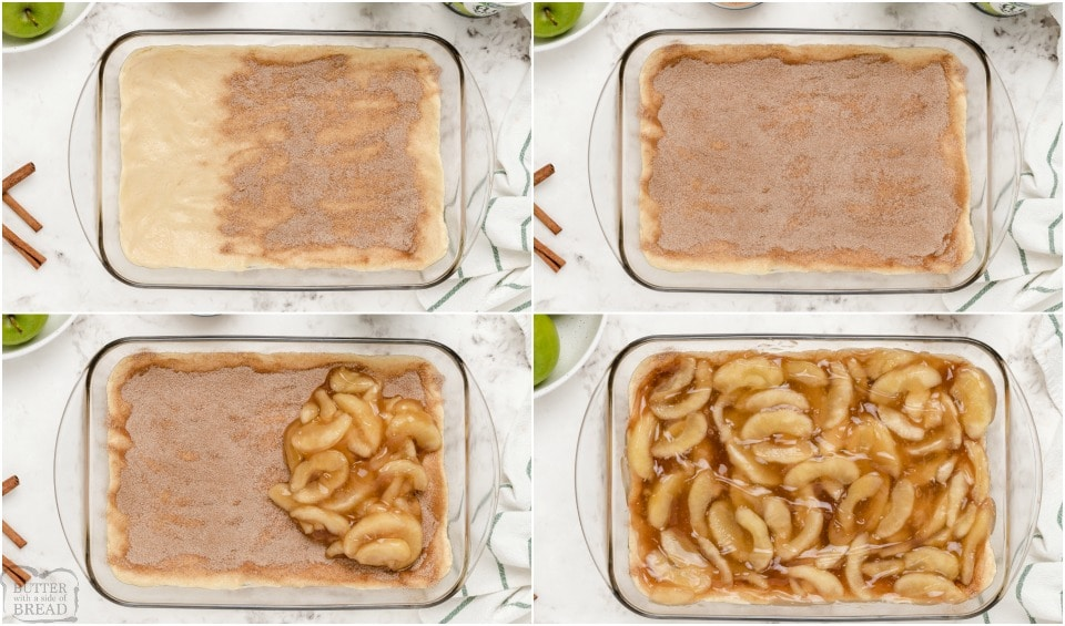 how to make Snickerdoodle Apple Cobbler