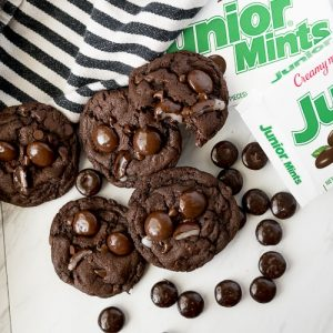 chocolate peppermint cookies