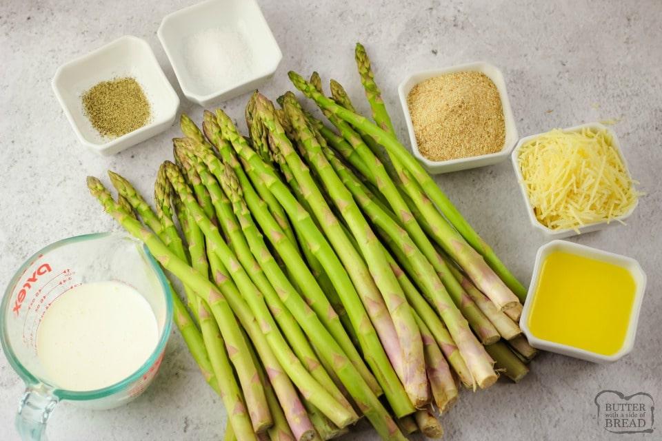 Creamy Baked Asparagus recipe