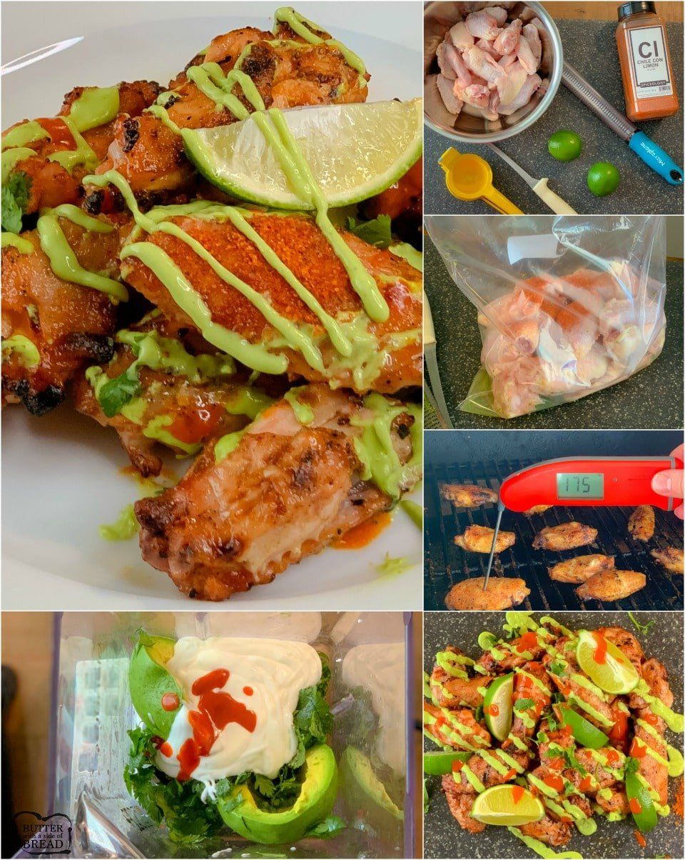 Chile Lime Smoked Chicken Wings