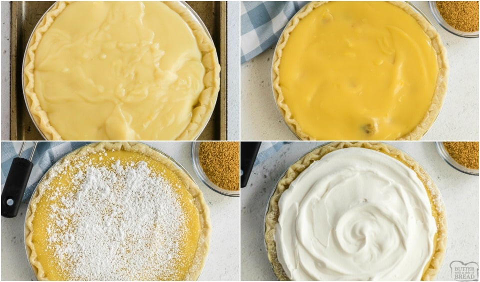 How to make Homemade Banana Cream Pie recipe