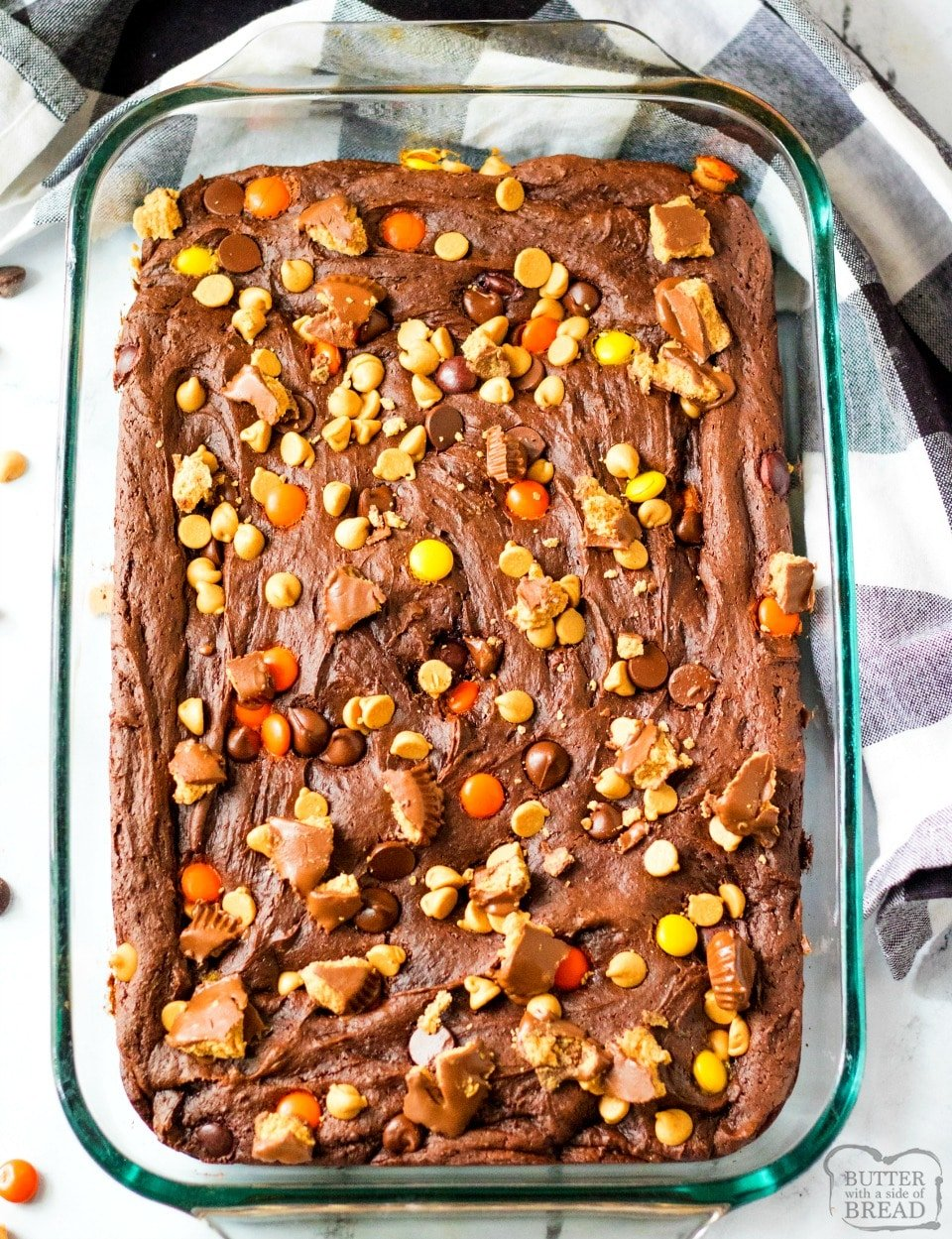 Easy Reese's Chocolate Dump cake recipe
