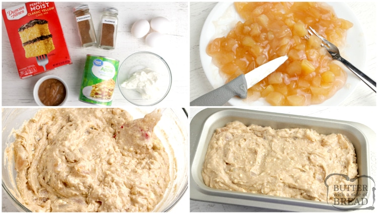 How to make apple pie quick bread