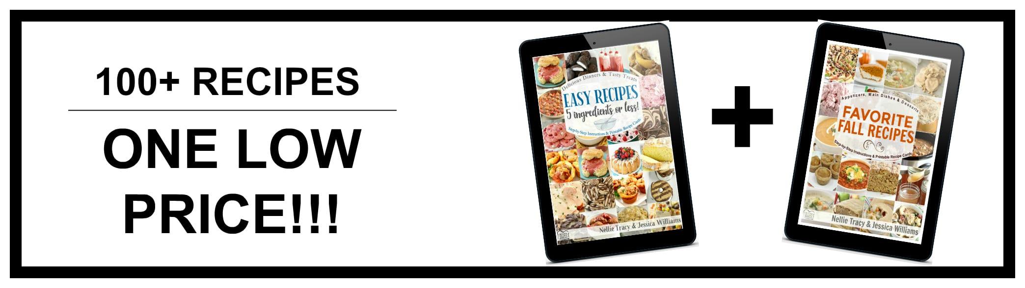 Easy Recipes and Fall Recipes Bundle Ad
