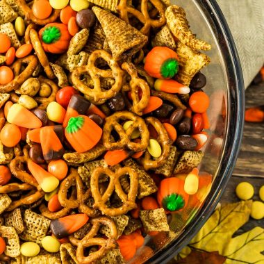 Easy Harvest Chex Mix Sweet and Salty