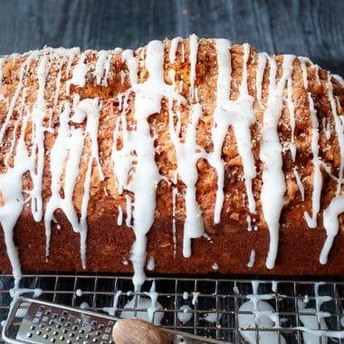 Moist Cinnamon Sugar Streusel Pumpkin Bread recipe