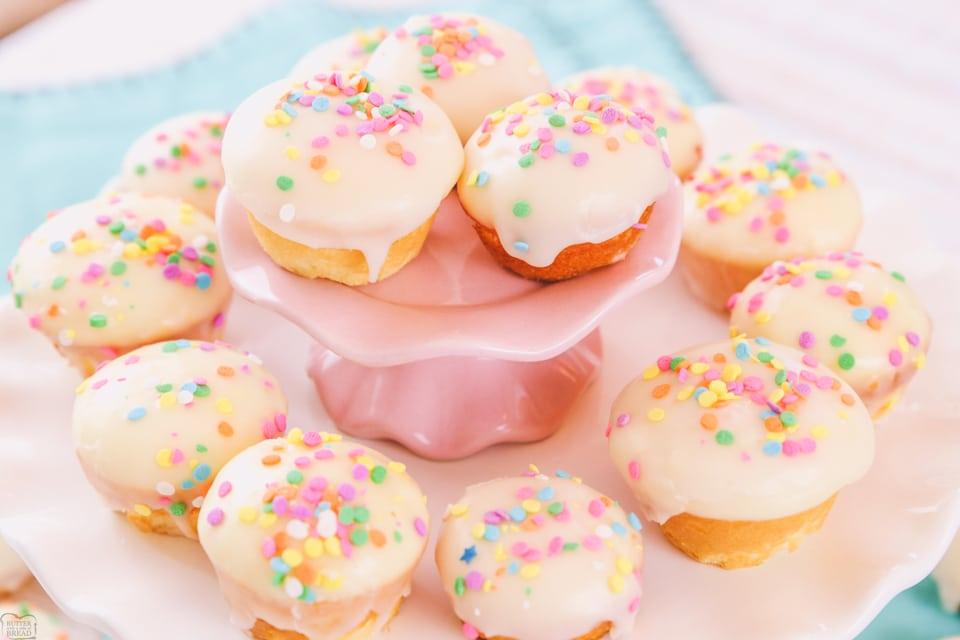Easy Vanilla Cake Bites recipe
