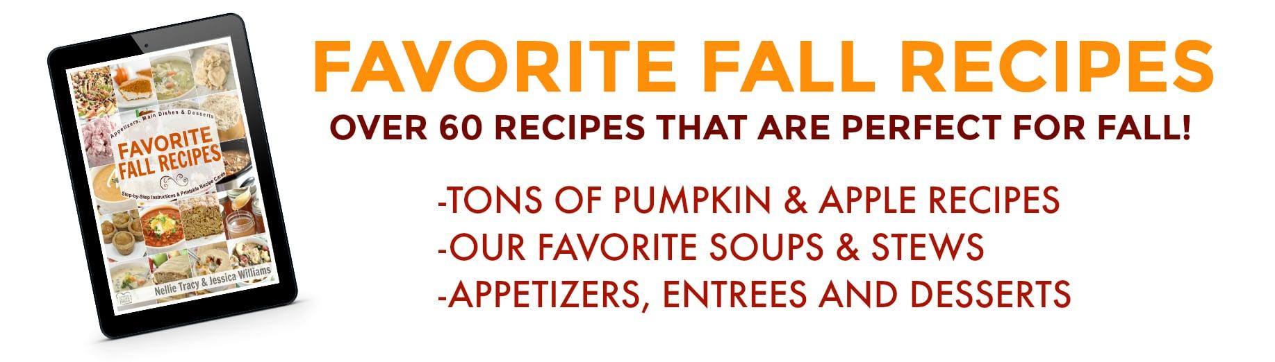 Favorite Fall Recipes Details