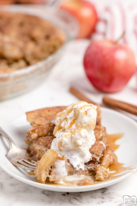 Snickerdoodle Apple Pie recipe