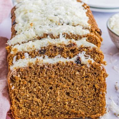 Easy Homemade Carrot Cake Bread