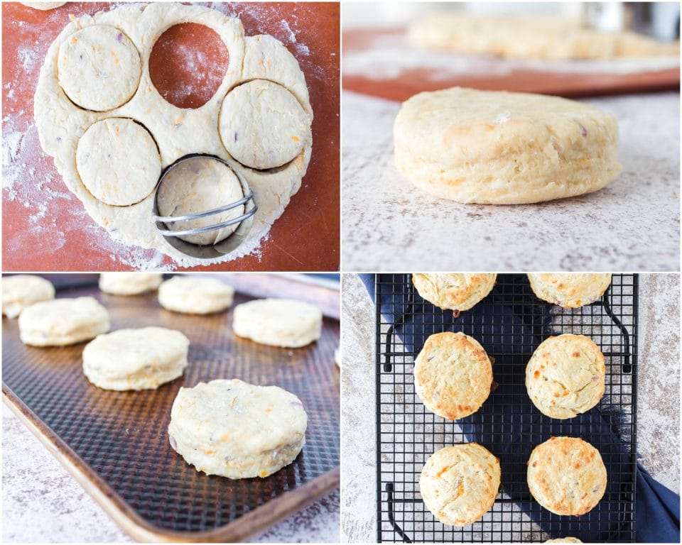 how to make Soft, Flaky Cheddar Biscuits recipe