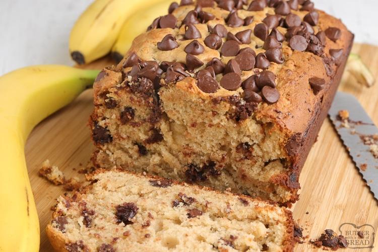 Banana bread recipe with peanut butter