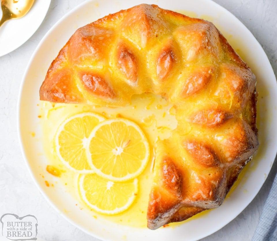 Lemon Pudding Bundt Cake recipe
