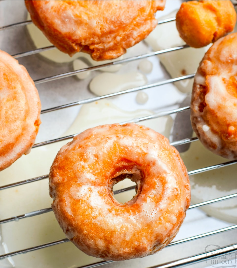 How to make Old Fashioned Sour Cream Donuts